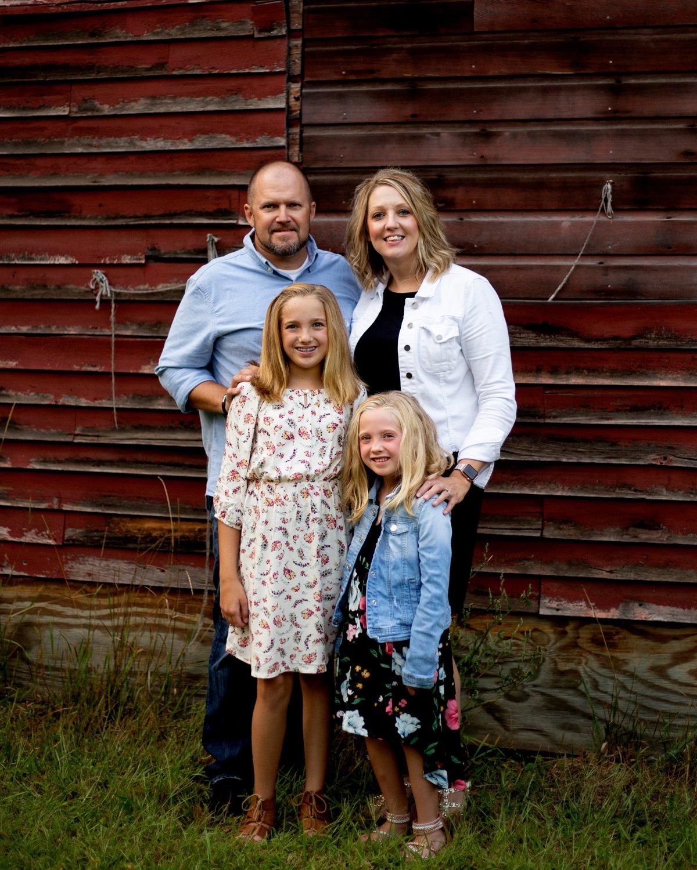 Family/Child lifestyle portrait