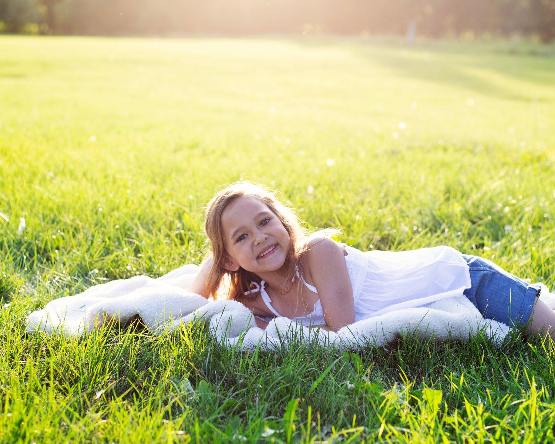 Outdoor child portrait