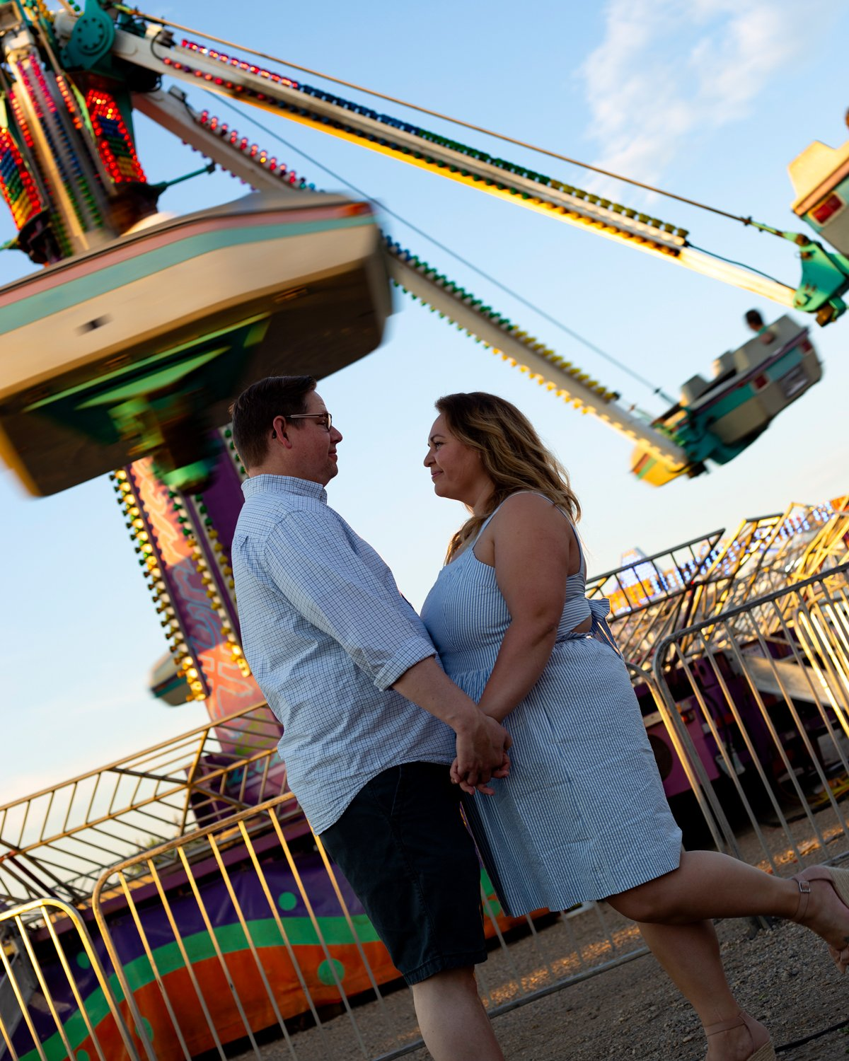 Lifestyle portraiture outdoor carnival